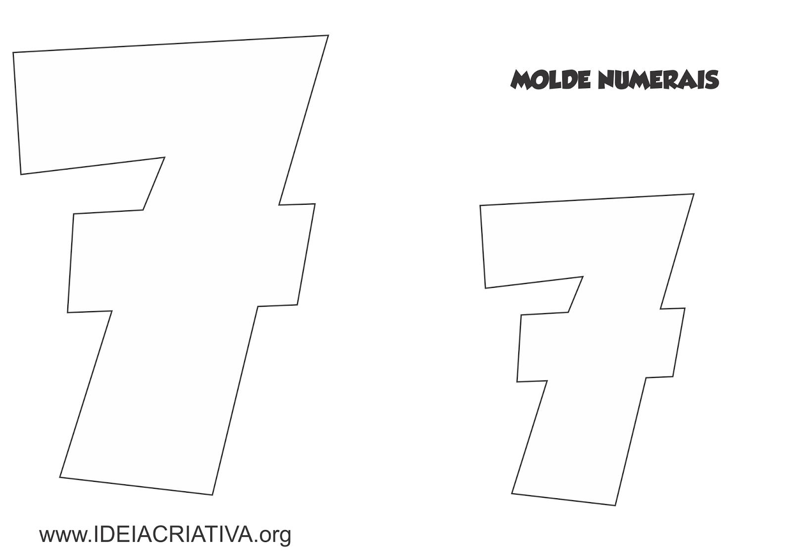 Molde Numerais Galinha Pintadinha Para Imprimir Ideia Criativa