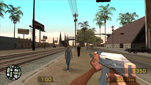 Kind Of Like The Counter Strike For GTA San Andreas Mod