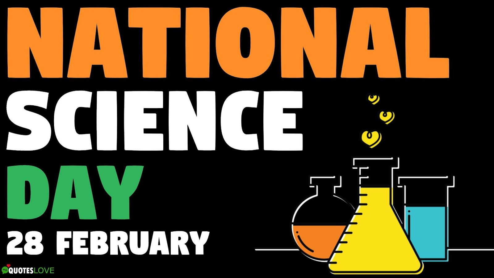 National Science Day Quotes, Wishes, Messages, Speech, Images, Drawing, Poster, Logo