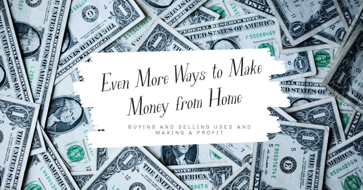 more ways to make money from  home
