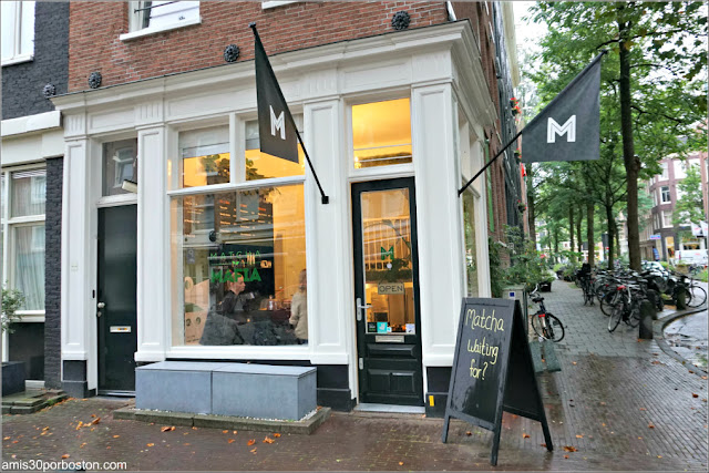 Matcha Mafia en Amsterdam