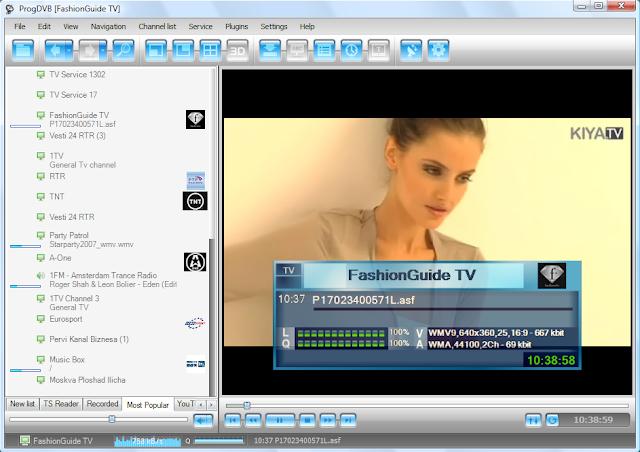 تحميل برنامج ProgDVB 7.26.4