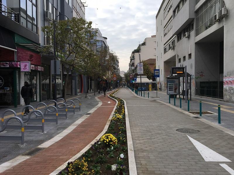 Κυκλοφοριακές ρυθμίσεις στην οδό Μεγάλου Αλεξάνδρου στη Λάρισα