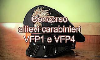 www.adessolavoro.com - Concorso allievi carabinieri VFP1 e VFP4