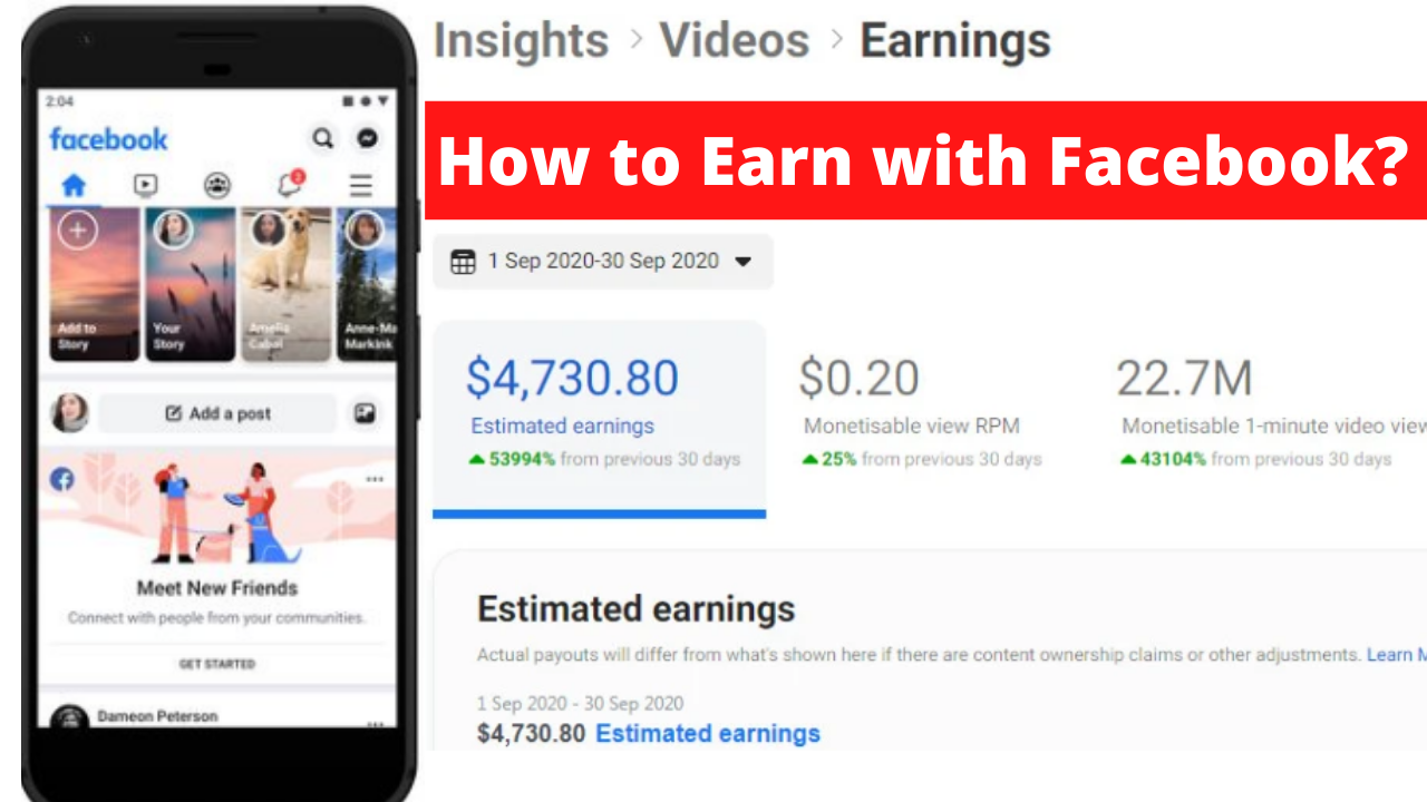 How to Earn Money with Facebook? 2021