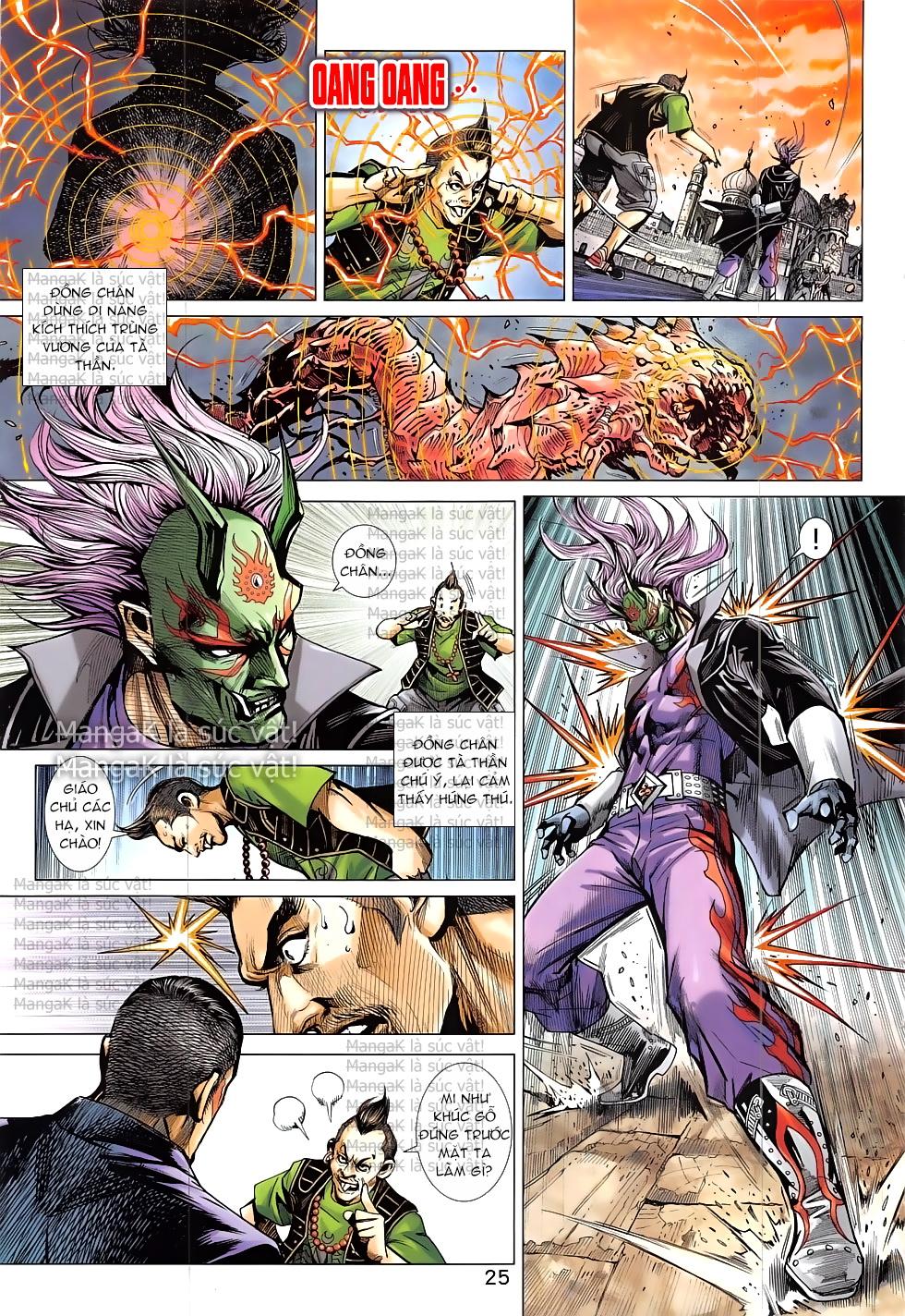 Tân Tác Long Hổ Môn Chap 824 page 25 - Truyentranhaz.net