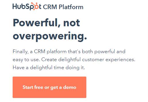 HubSpot CRM Tool Account Creation