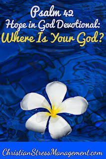 Where is your God? Psalm 42 Devotional