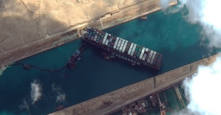 Traffic Resume in Suez Canal after Ever Green was set Afloat