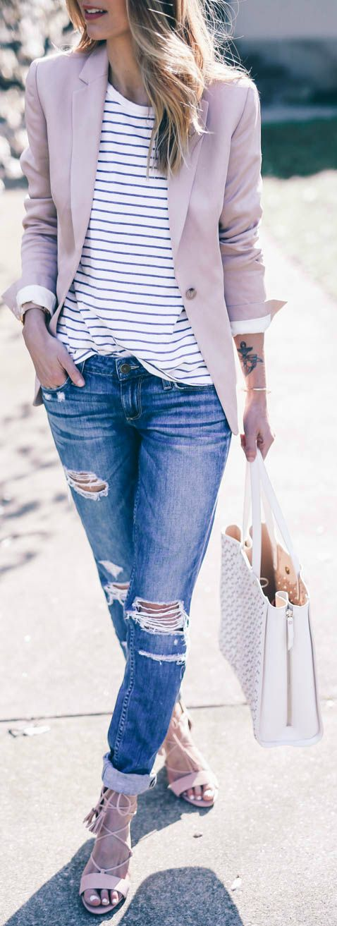striped-tee-jeans-blazer