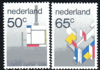 Netherlands De Stijl Mondriaan