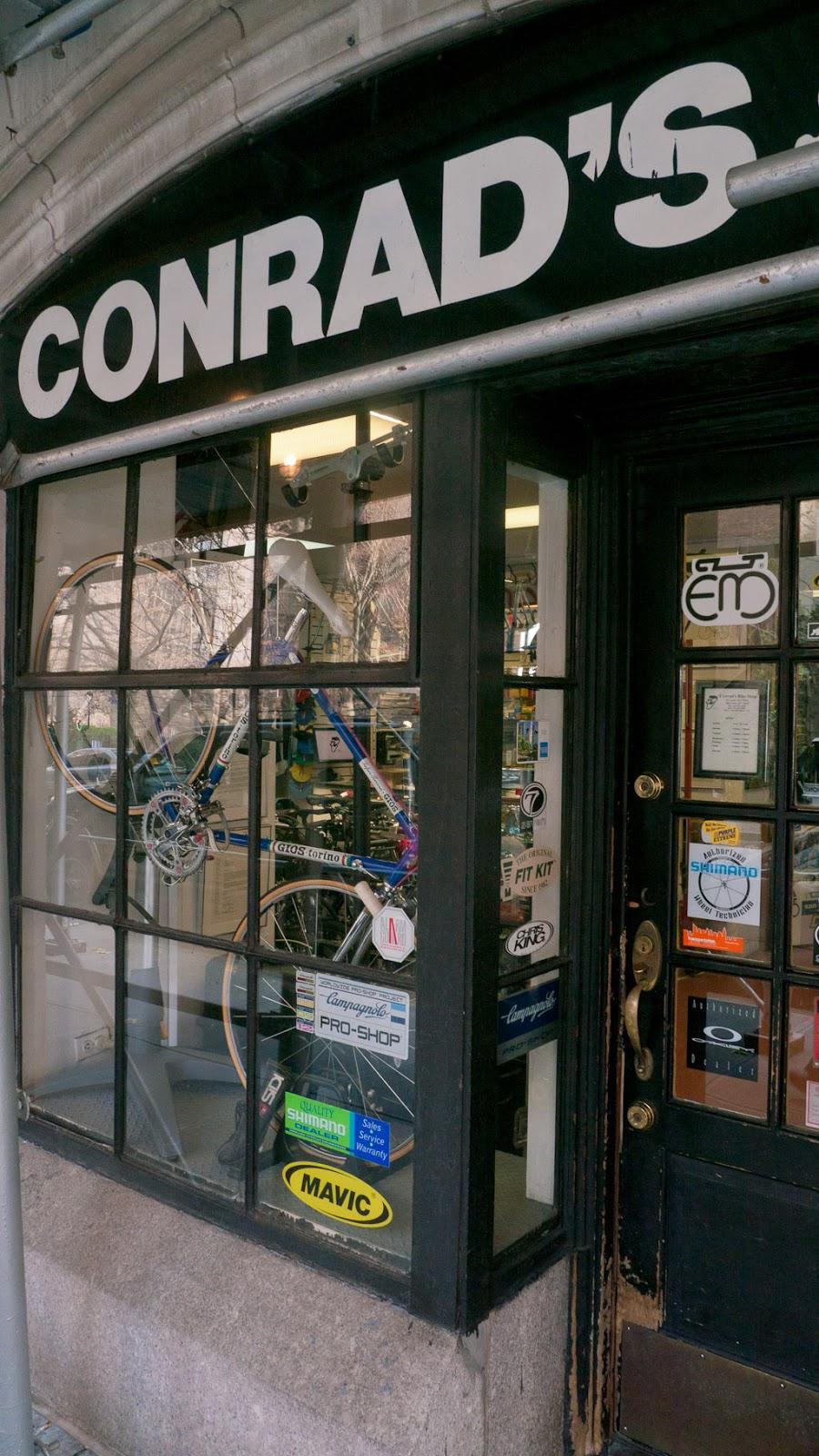 Biciak: New York City Bike Shops -Conrad's