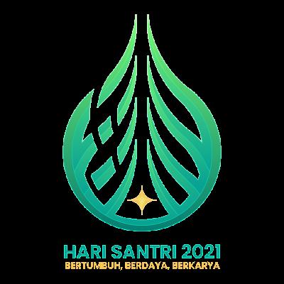Logo Hari Santri Nasional 2021 PNG