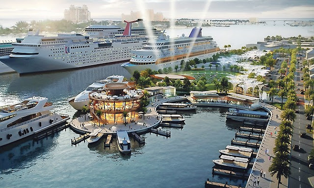 Major Improvements planned for Prince George's Wharf  Nassau the Bahamas as part of Partnerships with Global Port Holdings