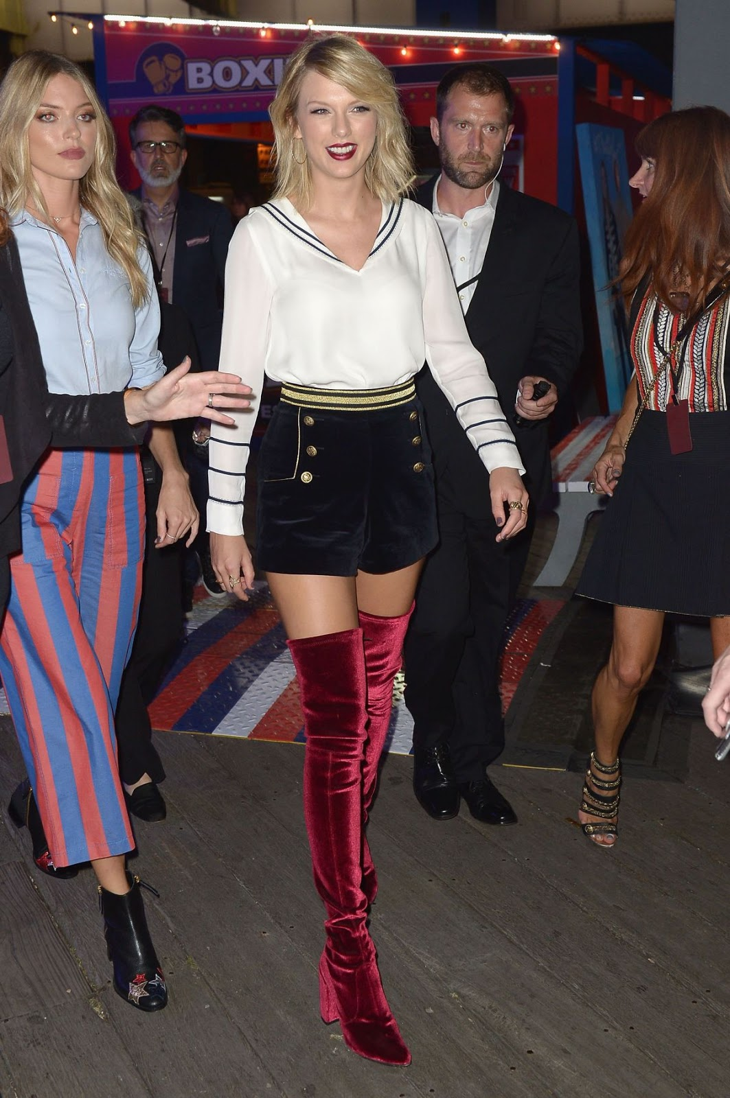 Taylor Swift At Tommynow Women's Fashion Show At New York Fashion Week