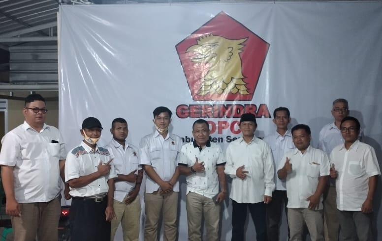 Pengurus Pimpinan Anak Cabang (PAC) Partai Gerindra Kecamatan Ambarawa, Kabupaten Semarang, Jawa Tengah