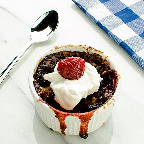 Strawberry Crumble with Chili Crisp