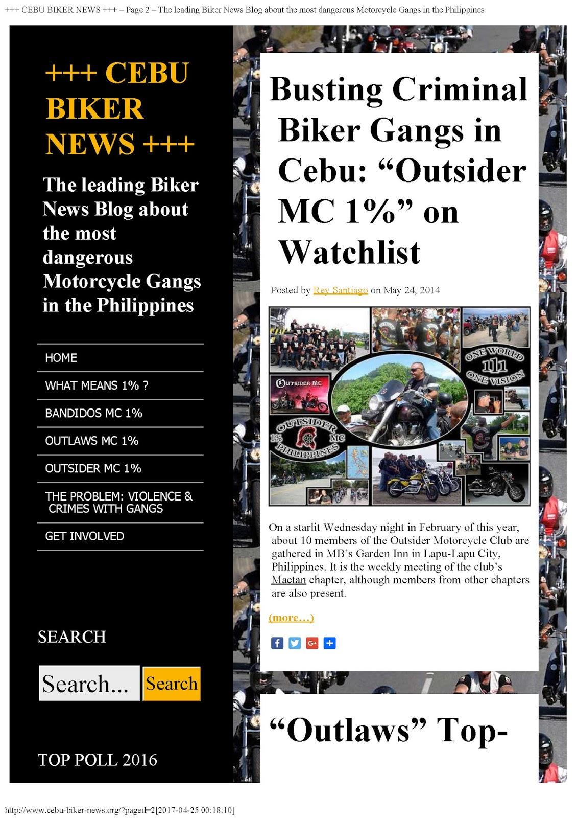 cebu biker news