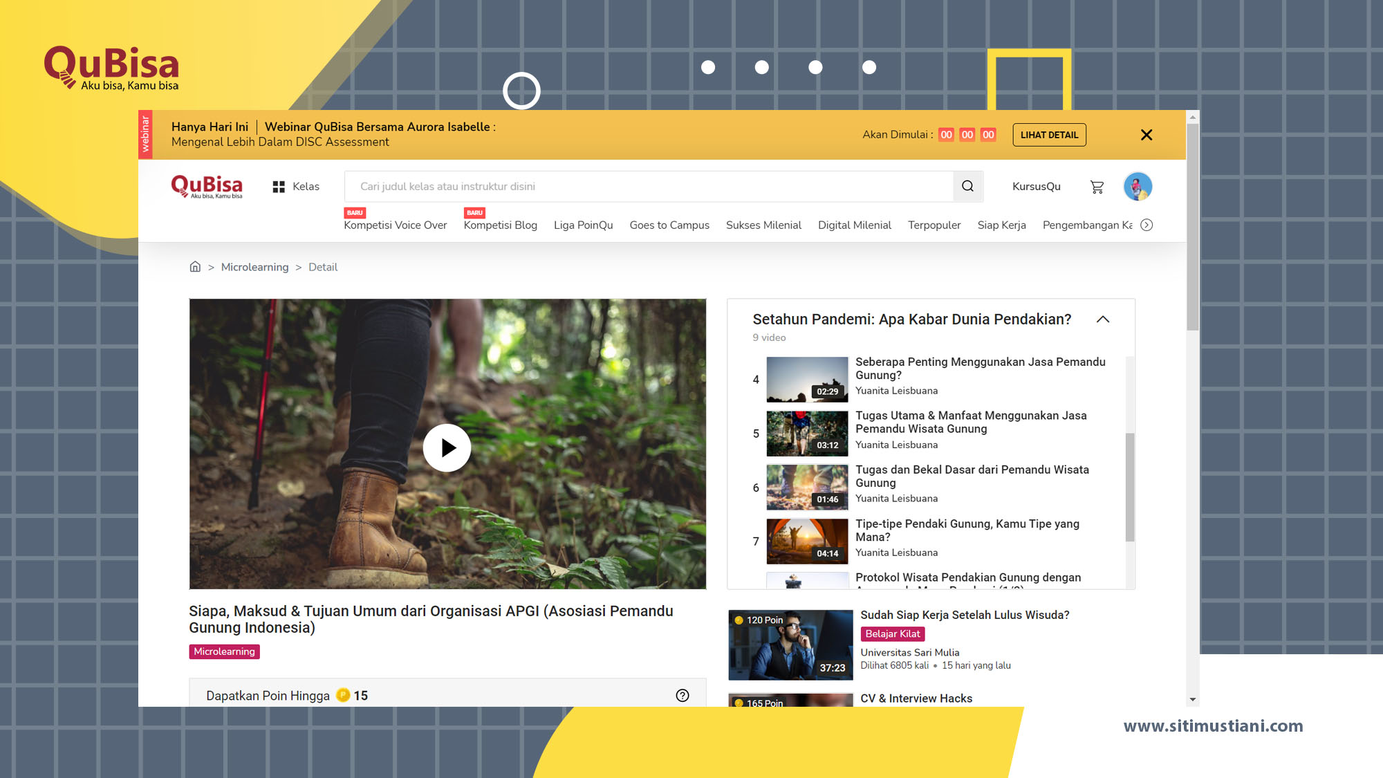 Belajar gak ribet di Aplikasi belajar online QuBisa