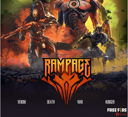 website rampage free fire