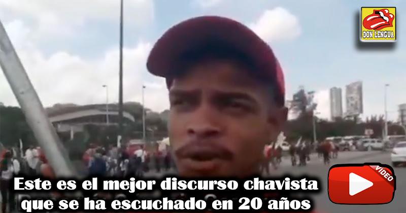 Este es el mejor discurso chavista que se ha escuchado en 20 años