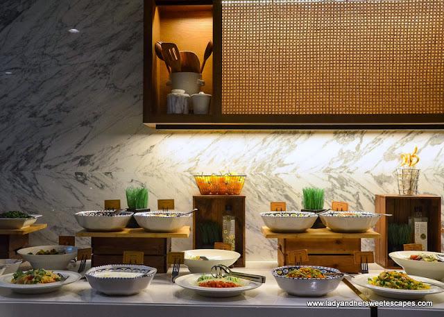 homey ambiance at Al Dawaar Revolving Restaurant