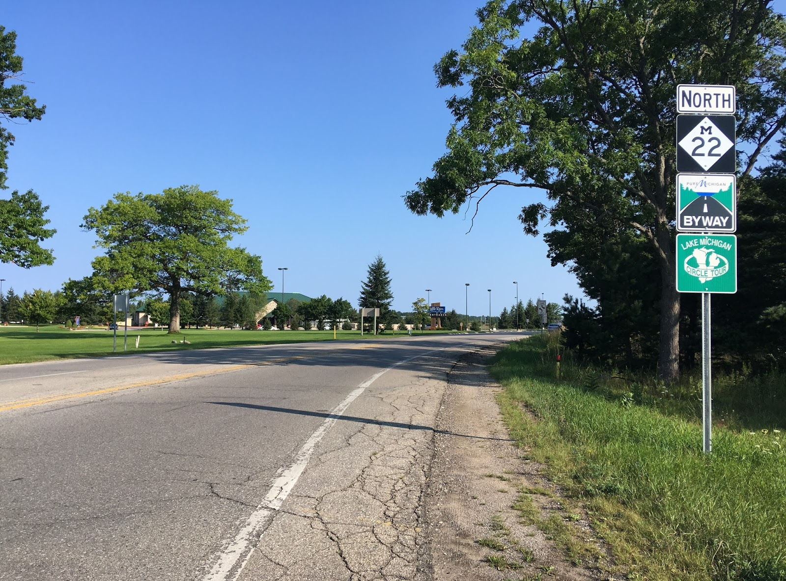 i started out from the very south end at us 31 in manistee in the county bearing the same name