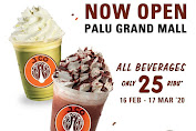 JCO Promo Now Open Palu Grand Mall All Beverages Only 25 Ribu 16 Februari - 17 Maret 2020