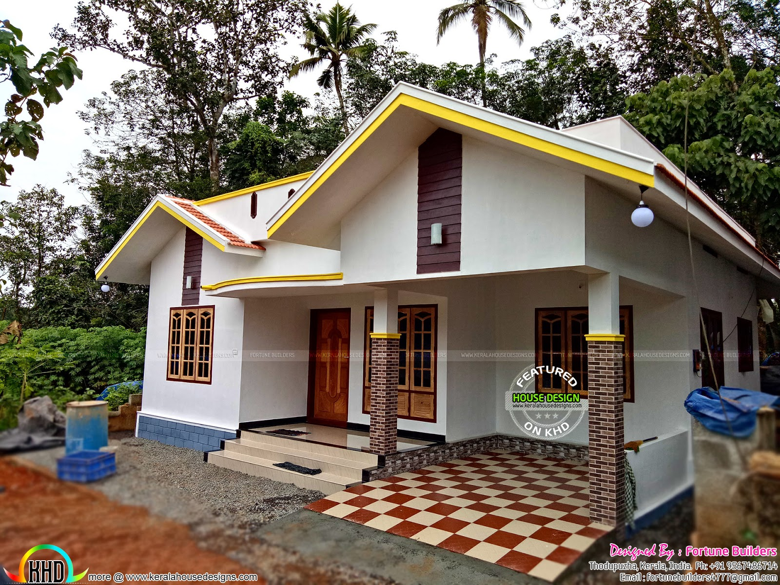 House For 27 Lakhs Kerala Home Design And Floor Plans