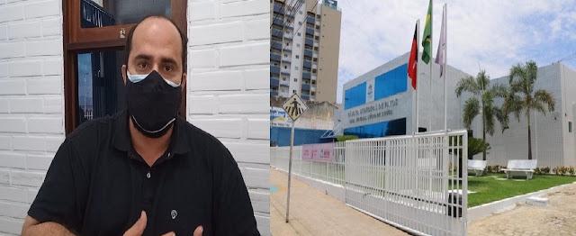 Câmara Municipal de Patos-PB decreta Luto de três dias pela morte do vereador licenciado e Secretário de Saúde de Patos-PB
