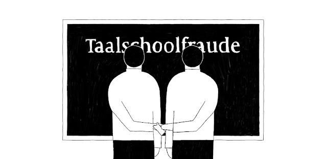 أكبر صحف هولندا تنشر تفاصيل احتيال مدارس اللغة بالتعاون مع الاشخاص المطالبين بالاندماج في هولندا