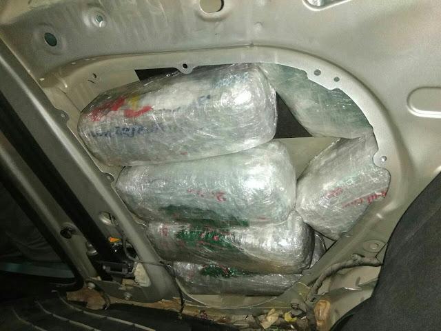 Θεσπρωτία: Οι Πόρτες Του Αυτοκινήτου Έκρυβαν 15 Kg Κάνναβης
