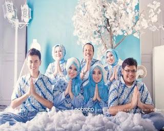 kumpulan foto baju batik keluarga
