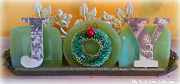Joy vintage jadeite