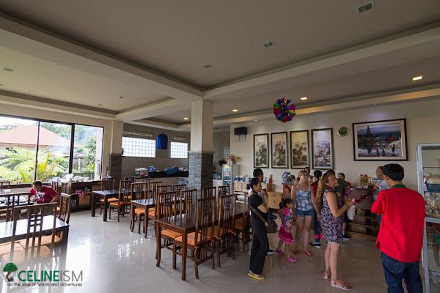 de danau lakeview restaurant bali inside