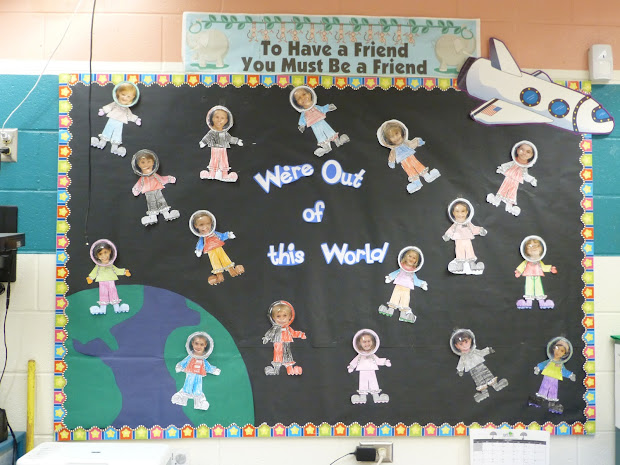 Outer Space Bulletin Board Ideas
