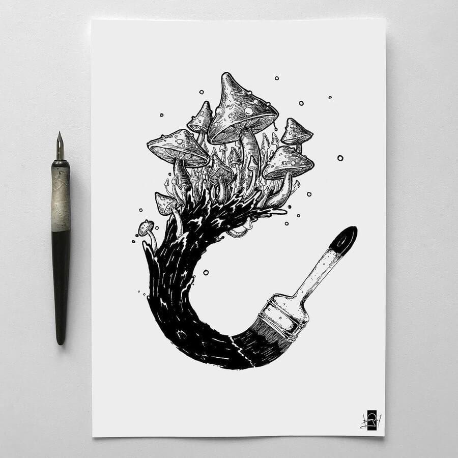 09-A-sea-of-mushrooms-Rudoi-www-designstack-co