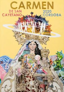 Así es el simbólico cartel del Carmen de San Cayetano de Córdoba