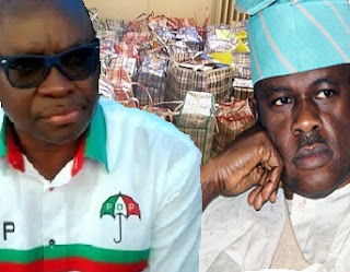 Fayose, Obanikoro, Actually 'Stole' The N1.2b Meant For 6 Others, It Took Us 10hrs To Load The Money In 65 Bags - Another Withness