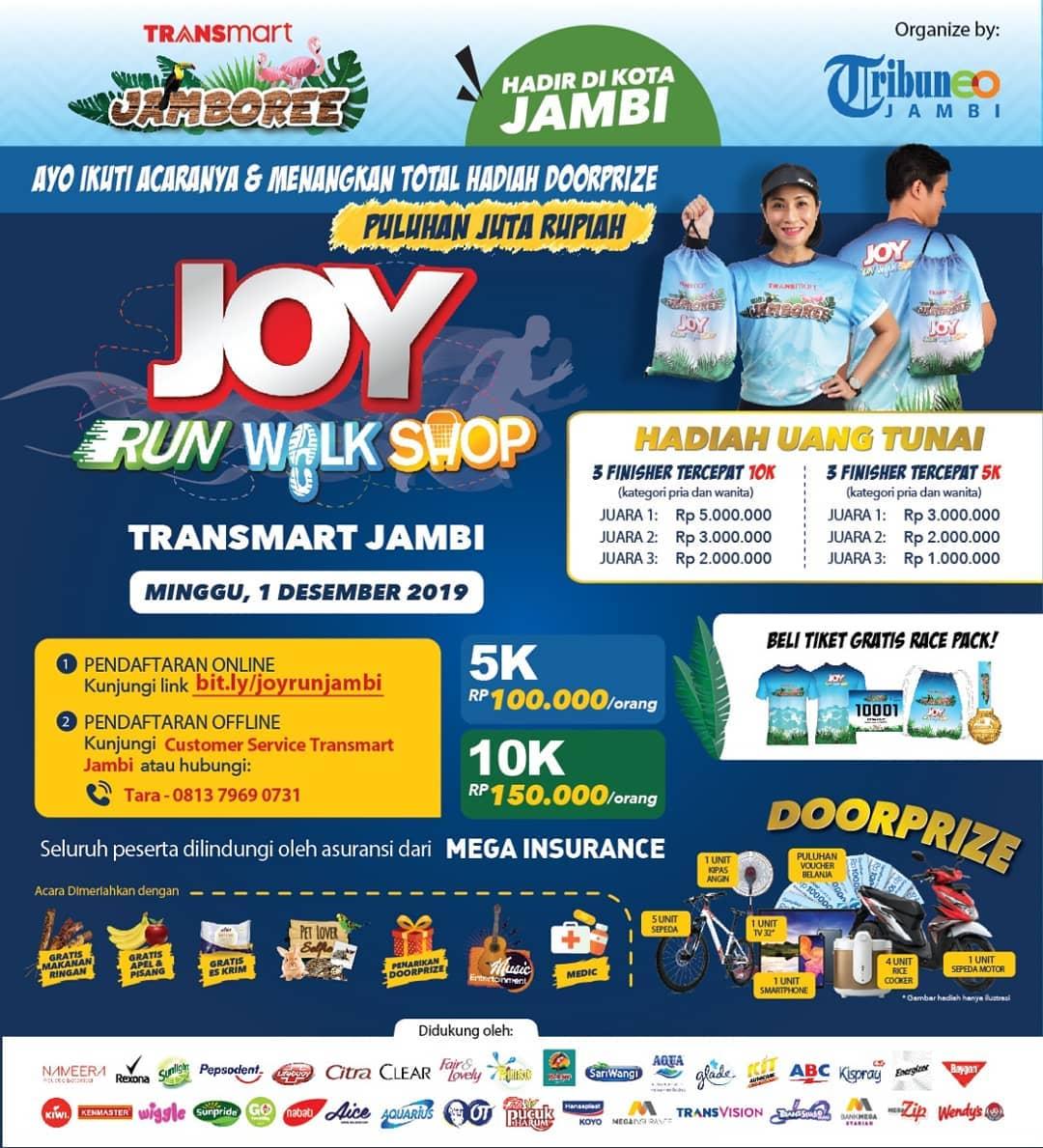 Joy: Run Walk Shop - Transmart Jambi • 2019