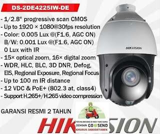 IP Camera HIKVISION DS-2DE4225IW-DE