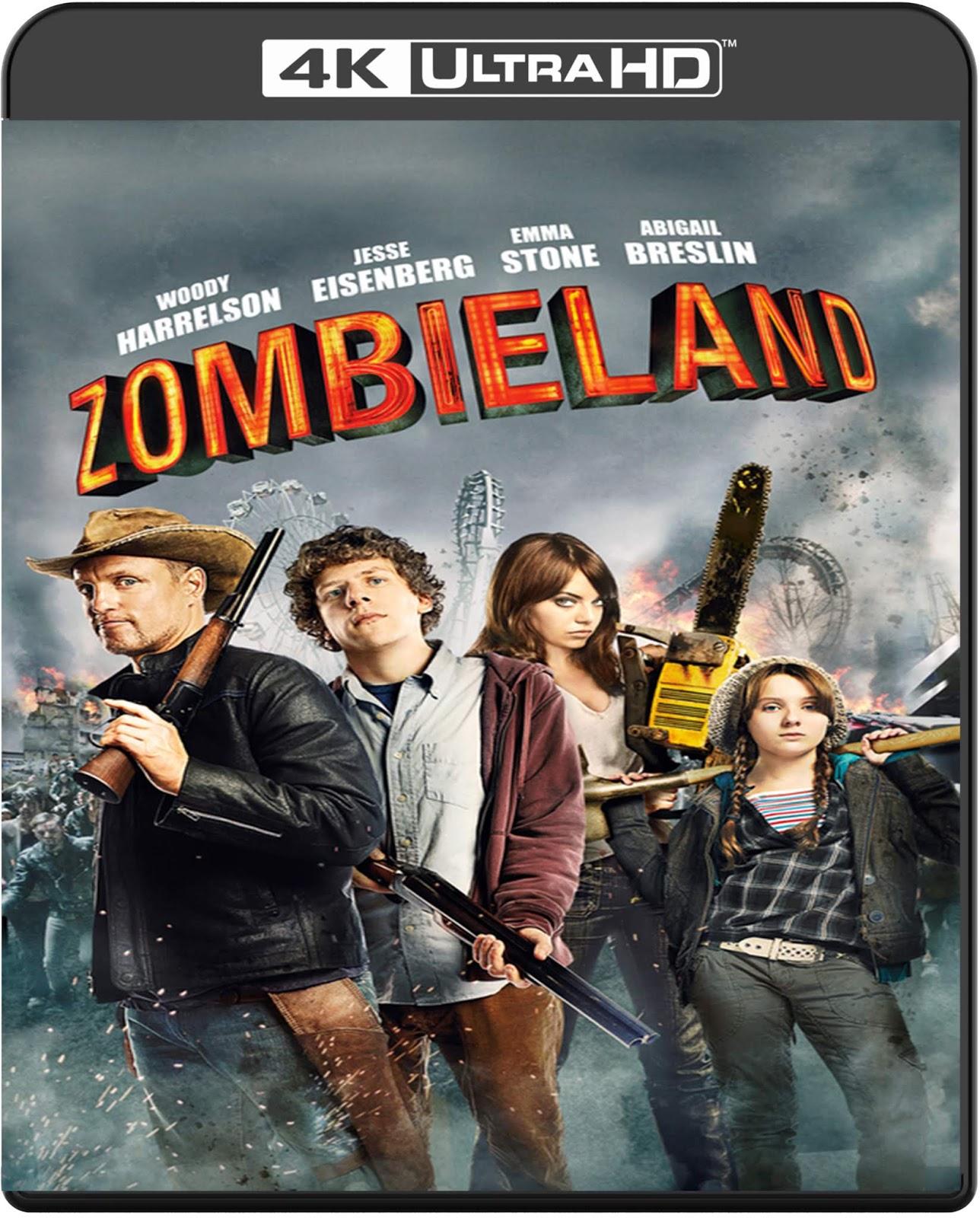 Zombieland [2009] [UHD] [2160p] [Latino – Castellano]