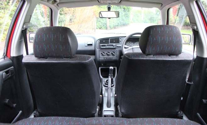 1994 VW Golf Ecomatic seating