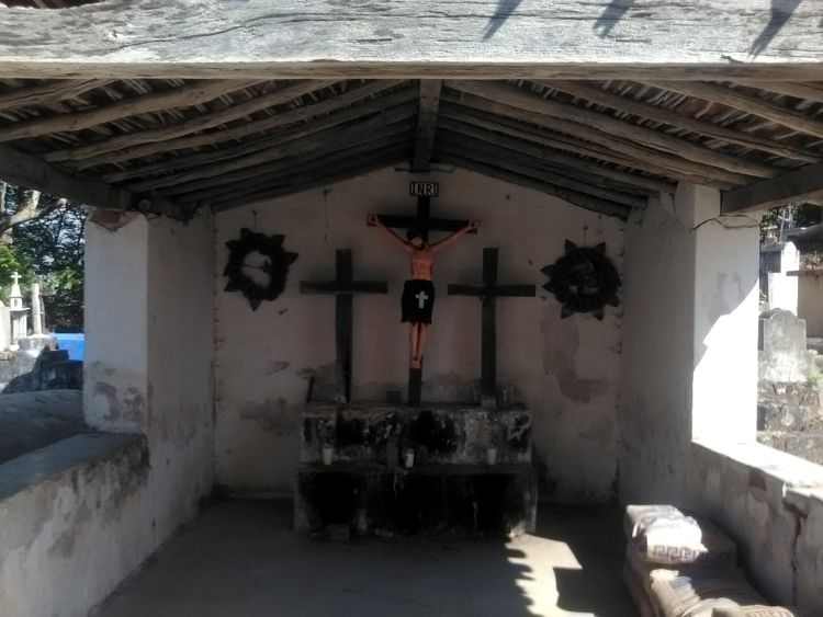 PANTEÓN DE SAN JUAN COLORADO, JAMILTEPEC.