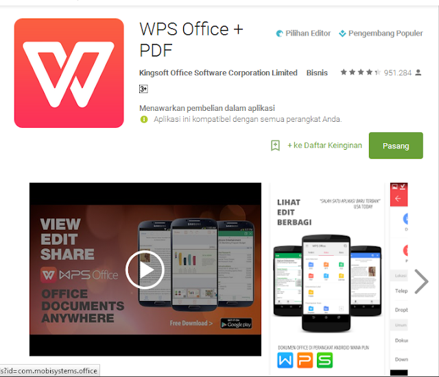 WPS Office Mobile