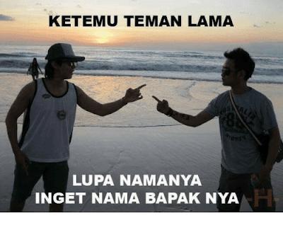 10 Meme 'Lupa' Ini Bikin Ingat Kalo Punya Urat Ketawa Sampai Ngakak