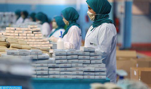 taroudantpress   المغرب يتبوأ موقعه في السباق العالمي نحو تملك الكمامات الواقية (لوموند)  تارودانت بريس
