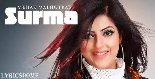 Surma Lyrics - Mehak Malhota