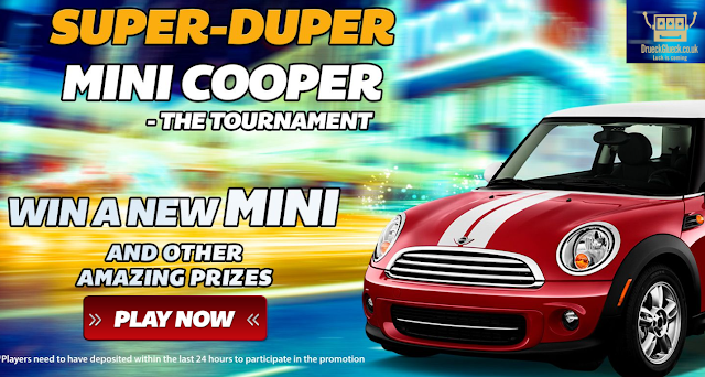 Win Mini Cooper this Summer | DrueckGlueck Casino