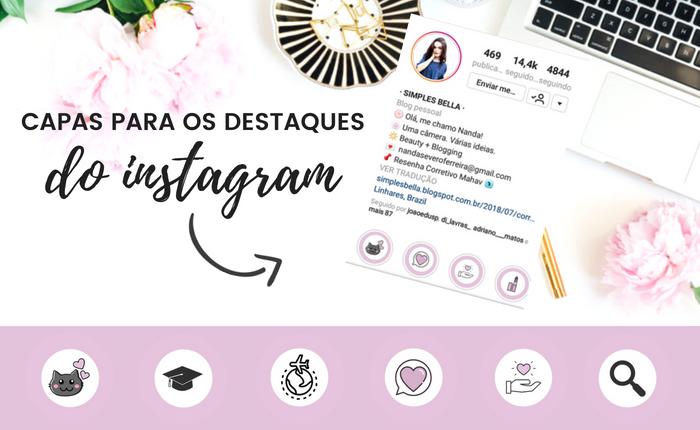 Capas para destaques do Instagram, Fazer capas para destaques do instagram